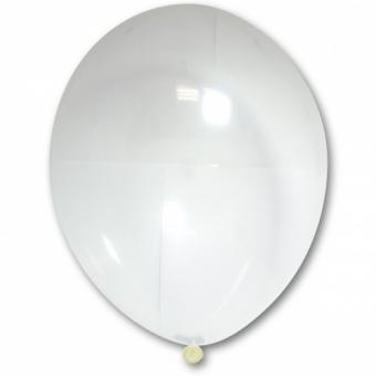 "Шарик BELBAL №038 кристалл ПРОЗРАЧНЫЙ - СТЕКЛО(Crystal Clear) 12""(30см) 50шт."