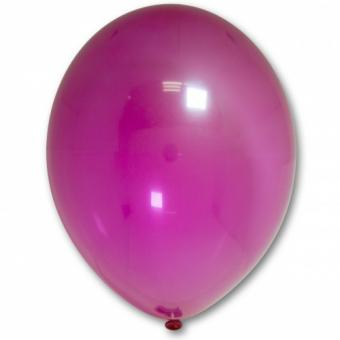 "Шарик BELBAL №034 кристалл МАЛИНОВЫЙ (Crystal Fuchsia) 12""(30см)"