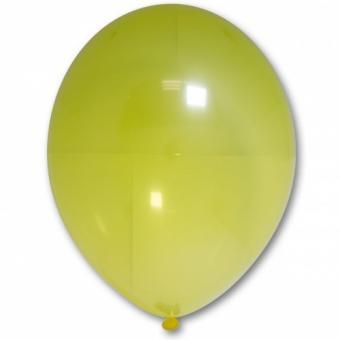 "Шарик BELBAL №037 кристалл ЖЁЛТЫЙ (Crystal Yellow) 12""(30см)"