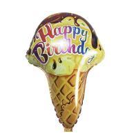 Шар фольга морожено