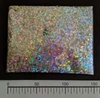 Конфетти четырехугольник(звезда)  серебро 50грамм