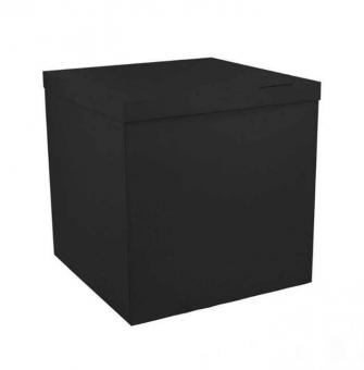 Коробка-сюрприз черная 50х50х50см. (для шариков)