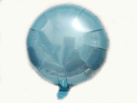 Круг(мини) 9 дюймов(24*25 см) голубой Китай