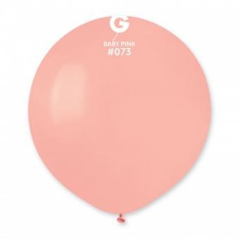 Шарик 19″(48см.) (Baby pink №73) нежно розовый