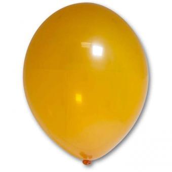 "Шарик BELBAL №037 кристалл оранжевый Orange  12""12""(30см)"