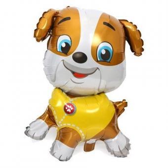 Фольгированная фигура щенок Крепыш (щенячий Патруль)