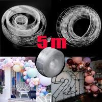 Пластиковая лента для крепления воздушных шаров 5 м.