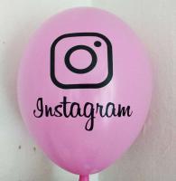 "Шарики  instagram  12""(30см) микс 100шт. (инстаграм)"
