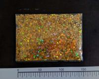 Конфетти шестисторонник золото 3мм 100грамм