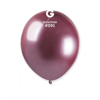 Хром Gemar 5″(13см) розовый(малиновый) 100шт.