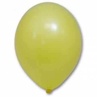 """Шарик BELBAL №006 пастель ЖЁЛТЫЙ (Yellow) 12"""" (30см)"""