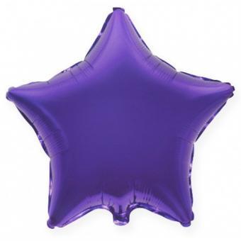 Звезда 18 дюймов(45х45см) фиолетовая FLEXMETAL